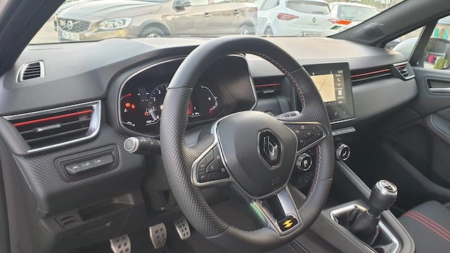 Renault Clio NM 1.0 TCe RS Line 100cv completo